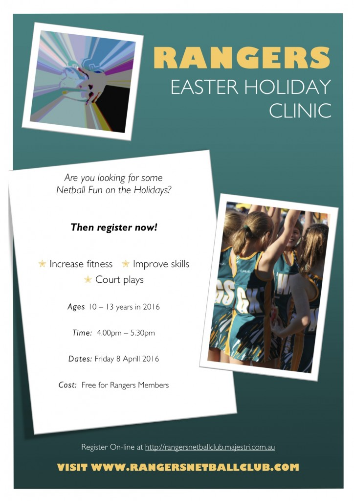 Easter Holiday Clinic